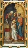 A apresentação da Virgem Maria fotografia de stock