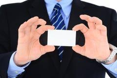 Apresentação de Businesscard Foto de Stock