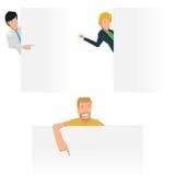 Apresentação do cargo do trabalhador Ilustração Stock