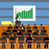Apresentação do negócio ilustração do vetor