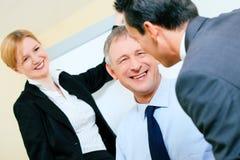 Apresentação do negócio na reunião imagens de stock
