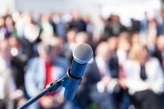 Apresentação do negócio ou conferência incorporada fotografia de stock