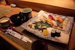 Apresentação do sushi Fotografia de Stock Royalty Free