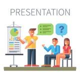 apresentação Treinamento do negócio Foto de Stock