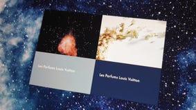 Apresentação video de Louis Vuitton Les Parfums, da fragrância e das coleções dos perfumes video estoque
