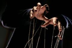 Apresentador de marionetas Imagens de Stock Royalty Free