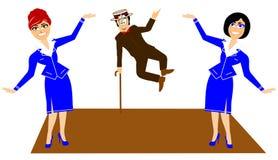 Apresentando o Sr. dançarino Foto de Stock Royalty Free
