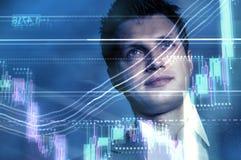 Apresentação esquematicamente Imagens de Stock