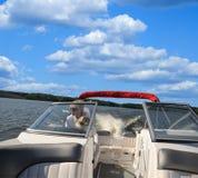 Apresse o desporto de barco em Kentucky Imagens de Stock Royalty Free