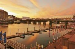 Apresurar el puerto querido, Sydney Imagen de archivo