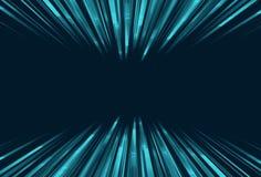 Apresure las líneas de luz y de rayas sobre fondo de la tecnología libre illustration