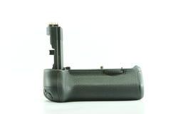 Apretón de la batería para la cámara digital Foto de archivo libre de regalías