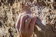 Apretón de la encrespadura del escalador Fotografía de archivo libre de regalías