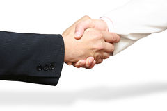 Apretón de manos de Businessmen?s imagen de archivo libre de regalías
