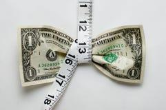 Apretón del dólar Foto de archivo