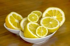 Apretón del limón Fotografía de archivo