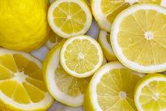 Apretón del limón imagen de archivo libre de regalías