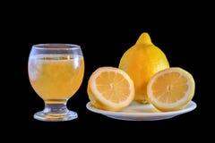 Apretón del limón Foto de archivo