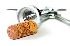 Apri del vino immagine stock