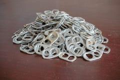 Apri di alluminio Immagine Stock Libera da Diritti