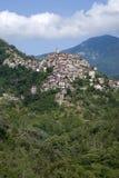 Apricale. Αρχαίο χωριό της Ιταλίας Στοκ φωτογραφία με δικαίωμα ελεύθερης χρήσης