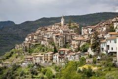Apricale, Ιταλία Στοκ φωτογραφίες με δικαίωμα ελεύθερης χρήσης