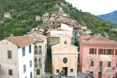 Apricale Royalty Free Stock Photography
