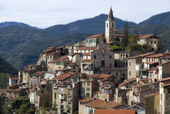 Apricale. Ancient village of Italy Royalty Free Stock Photography