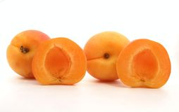 Apricot. Fruits Stock Photography