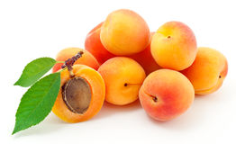 Free Apricot. Royalty Free Stock Photo - 23184365