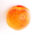Apricot. A close up on an apricot royalty free stock photos