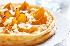 Apricot and Almond Tart Stock Photos