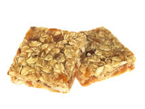 Apricot and Almonds Flapjack Royalty Free Stock Image