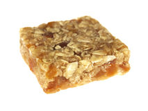 Apricot and Amond Flapjack Royalty Free Stock Photos