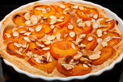 Free Apricot And Almond Tart Stock Image - 45655951