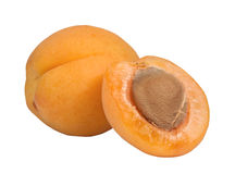 Apricot And Half Stock Photos