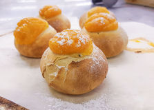 Apricot buns Royalty Free Stock Photography
