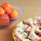 Apricot cake Stock Image