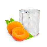 Apricot can Stock Photography