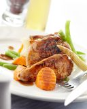 Apricot chicken Royalty Free Stock Photo