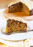 Apricot cinnamon cake Stock Photo
