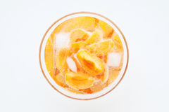 Apricot cocktail Stock Image