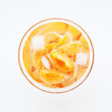 Apricot cocktail Royalty Free Stock Image
