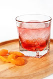 Apricot cocktail Stock Photo