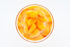 Apricot compote Stock Photos