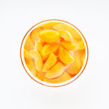 Apricot compote Stock Images