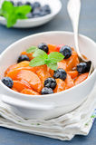 Apricot compote Royalty Free Stock Photos