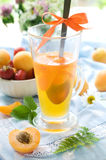 Apricot dessert Royalty Free Stock Photos