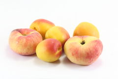 Apricot and doughnut peach Royalty Free Stock Photos