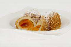 Apricot dumpling Royalty Free Stock Photography